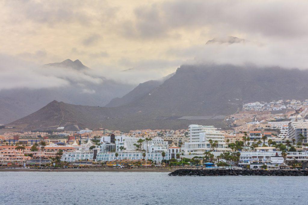 Adeje coast. Tenerife, Spain